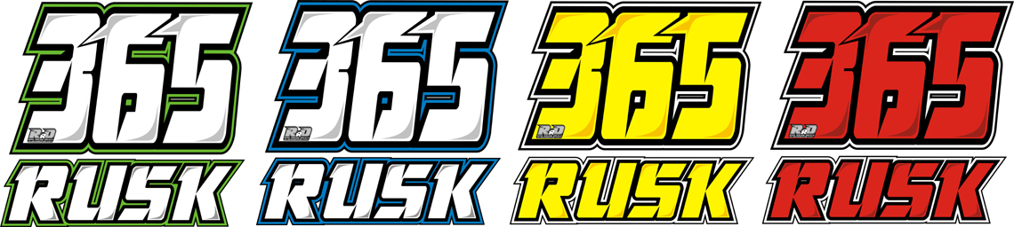 Rusk Racing Custom Motocross Graphics And Decals Thick Stickers