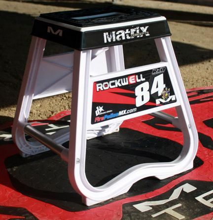 Rusk Racing Custom Motocross Graphics Custom Bike Stand